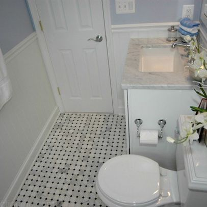 Beadboard Bathroom Design Ideas, Pictures, Remodel, and Decor
