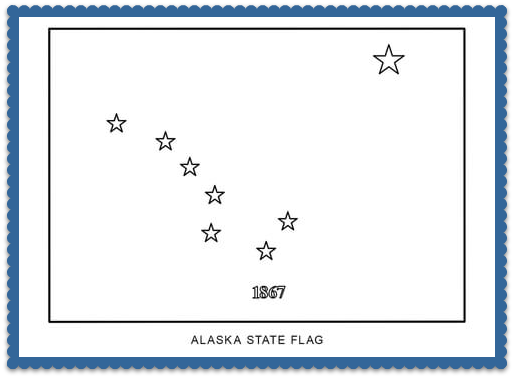 State Flag Coloring Pages By Usa Facts For Kids Flag Coloring Pages State Flags Coloring Pages