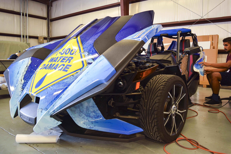 Make a splash wherever you go with custom vehicle wraps