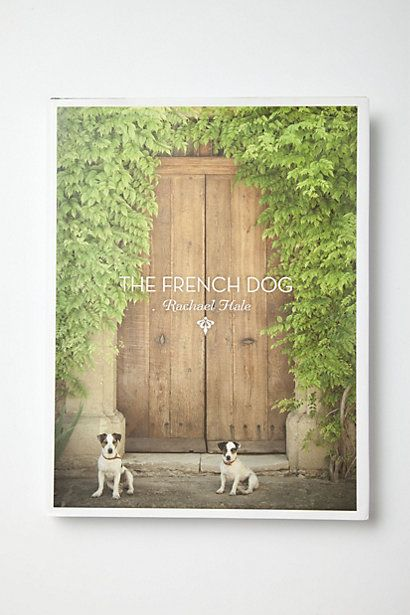 The French Dog coffee table book with photographs of Parisian dogs