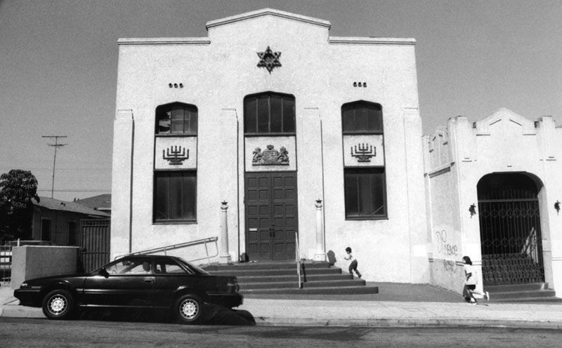 Jewish synagogue, Boyle Heights [graphic] / Mirano, Virgil