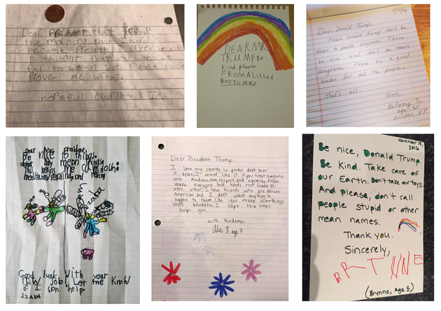 Kids Are Writing Letters To Donald Trump To Ask Him To Be Kind