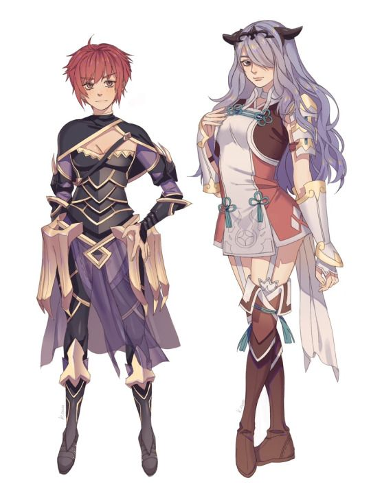 Hinoka camilla outfit switch art blog fire emblem and for Fe camilla