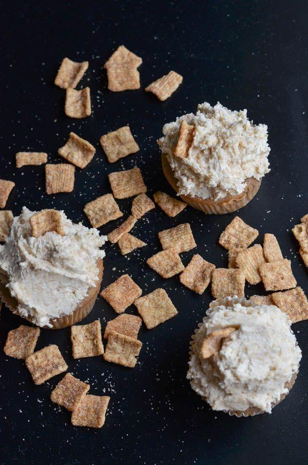 Cinnamon toast crunch cupcakes #cinnamontoastcrunch