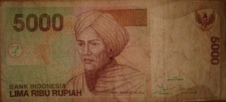 The Rupiah Rp Is Official Currency Of Indonesia 5000 Lima Ribu Www Travelling Bali