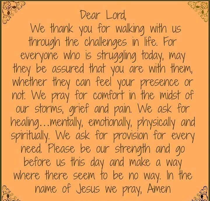 Let Us Pray