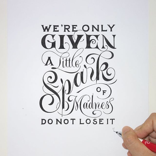 Robin Williams | Typography quotes, Hand lettering quotes ...