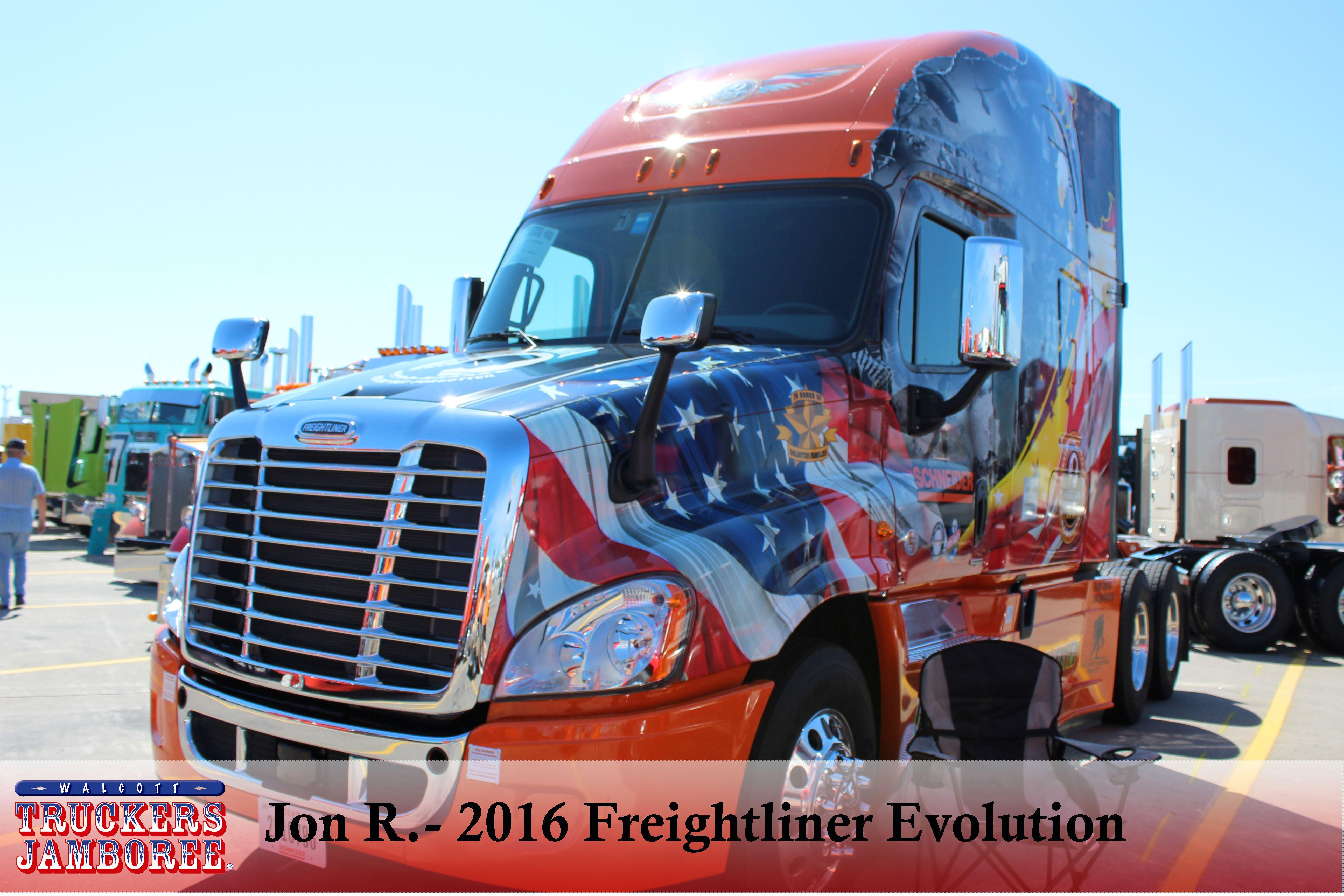 2016 Freightliner Freightliner Freightliner Cascadia Show Trucks