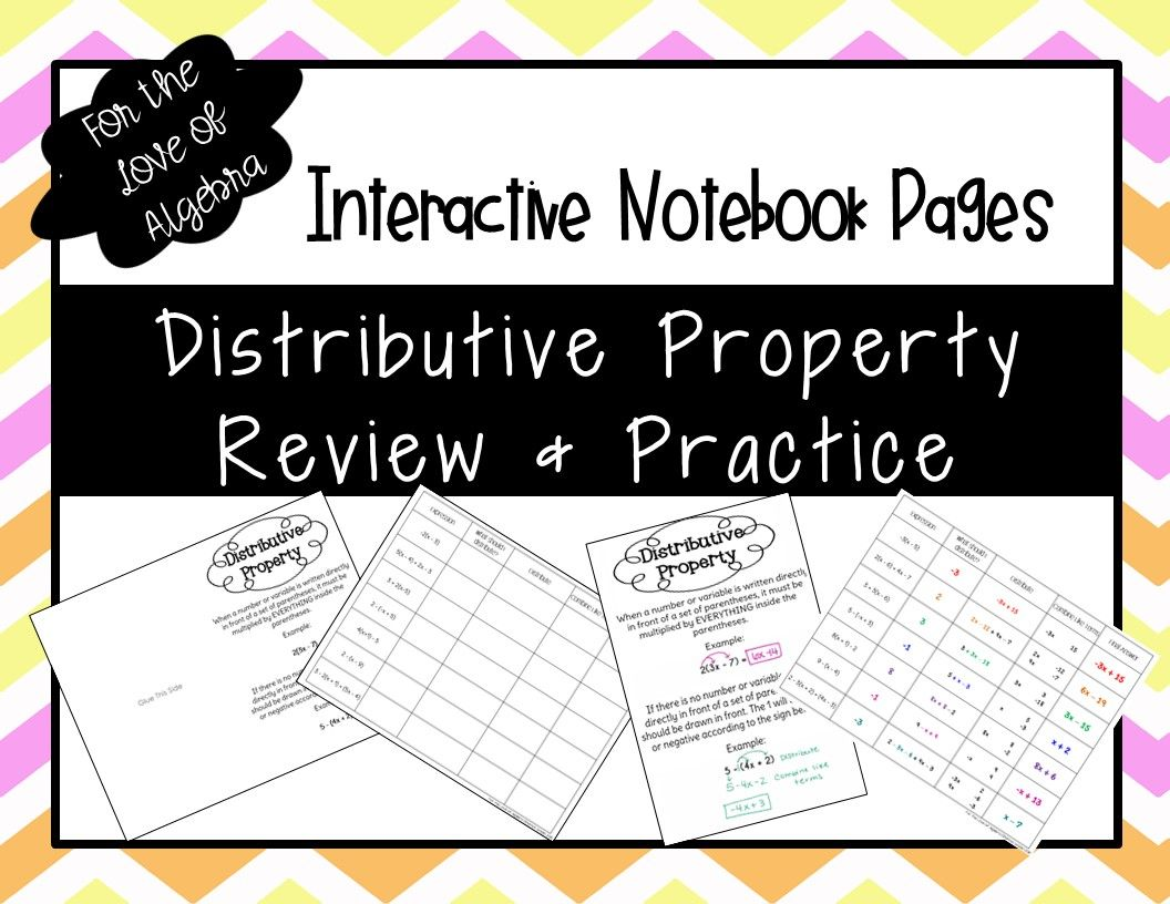 Distributive Property Review Amp Practice Gse Algebra 1