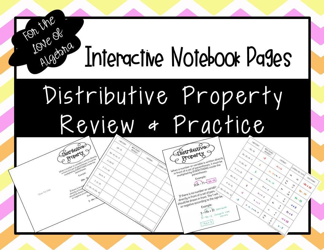 Distributive Property Review Amp Practice Gse Algebra 1