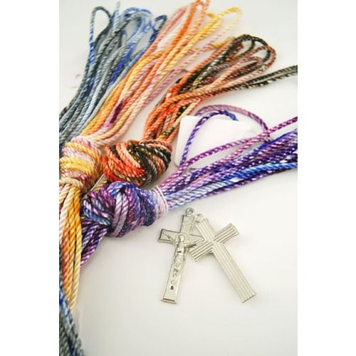Many people would like to be able to make their own rosaries. This Twine Rosary-Making Starter Kit has everything that's needed as well as step-by-step photo instructions!