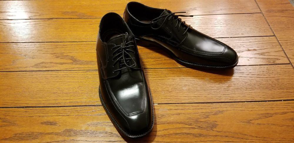 Johnston Murphy Lace Up Black Shoes 15 0967 Size 9m Fashion