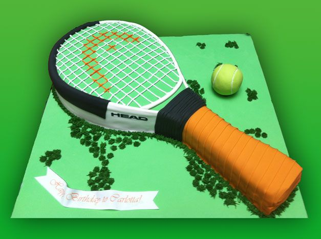 Tennis Racket Custom Birthday Cakes Manhattan