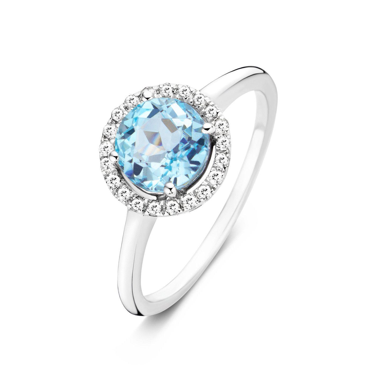 Tutti Colori Ring Blue Topaz - Ringen - Juwelen - Diamanti Per Tutti