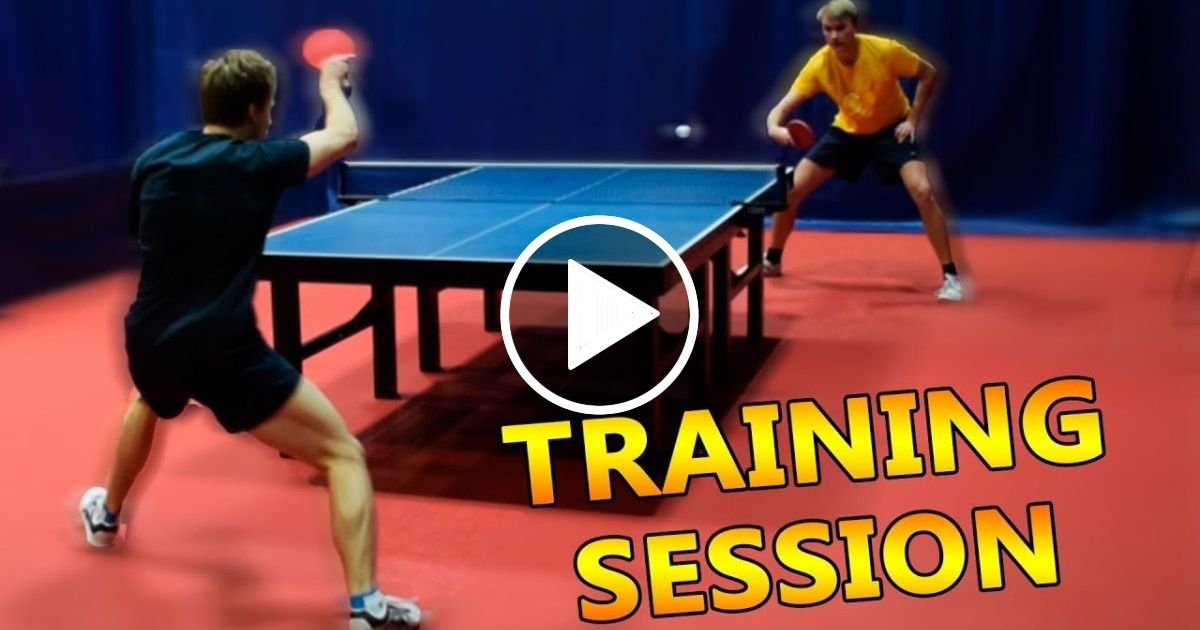 Table Tennis Training I Pongfinity Sport Report Videos Table Tennis Tennis Videos Ping Pong