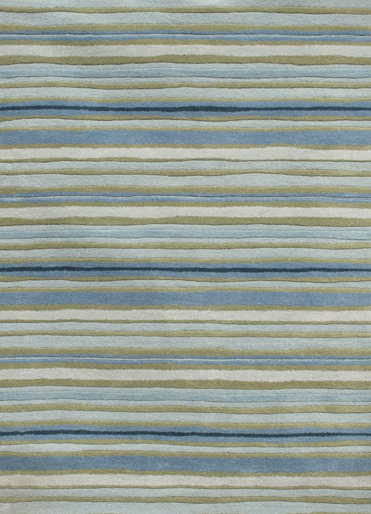 Coastal Living Hand Tufted Rug Sawgr Pastel Blue Beach Decor Home Nautical Tropical Island Cottage Furnishings