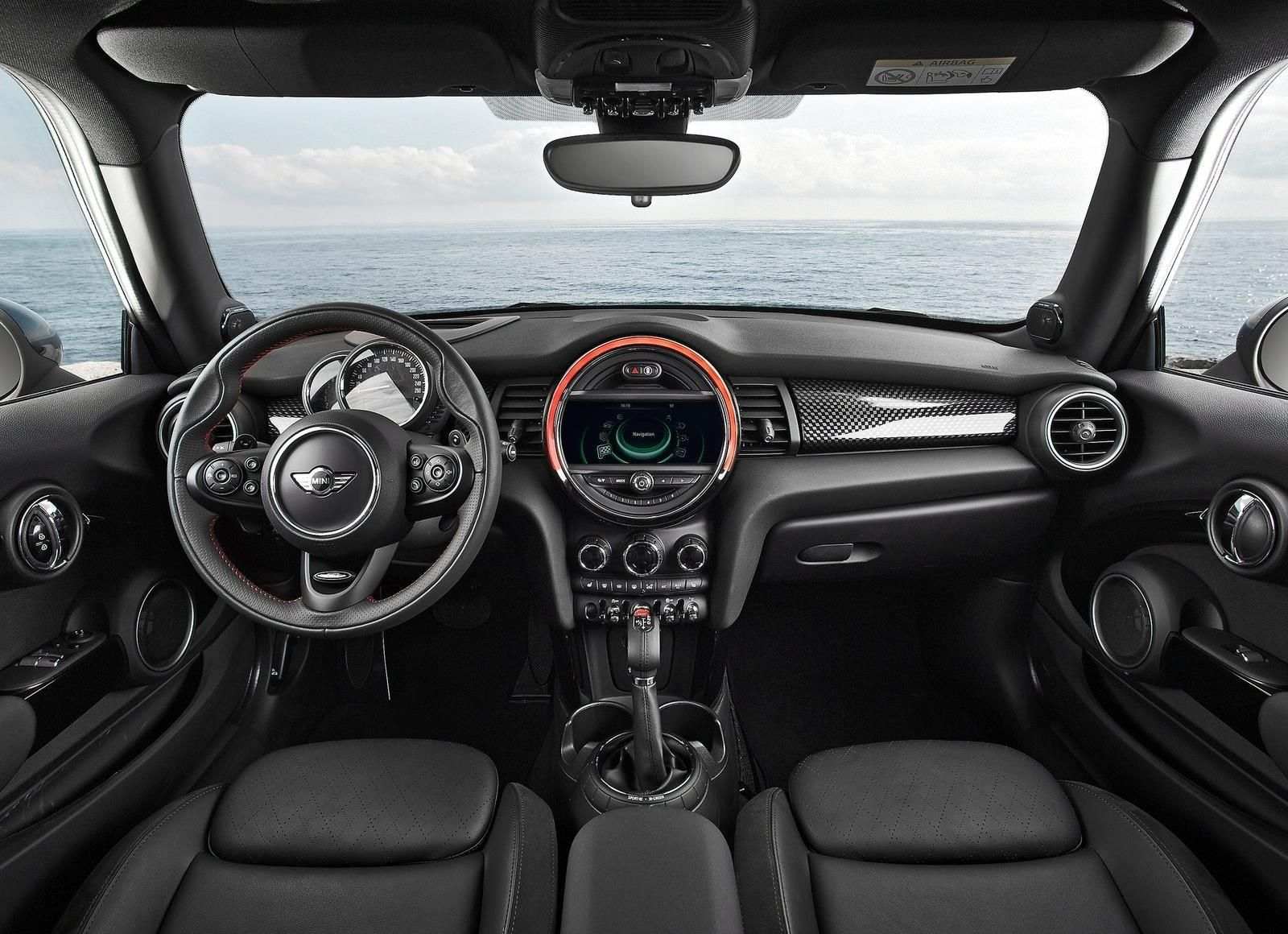 Interior Of 2017 Mini Cooper S