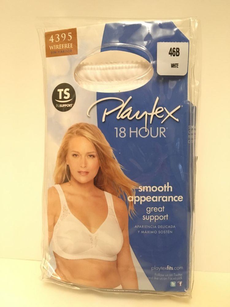 0aa1f2f2fc8a0 Playtex 18 Hour Seamless Wirefree Bra All-Around Smoothing TruSUPPORT  Comfort  fashion  clothing  shoes  accessories  womensclothing   intimatessleep (ebay ...