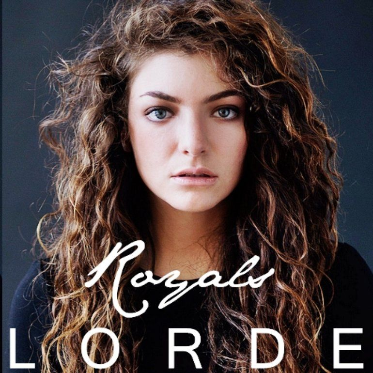 Lorde – Royals (single cover art)