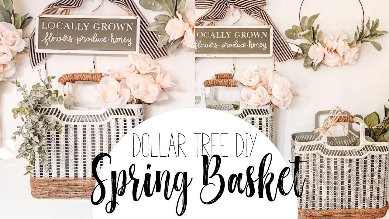 Dollar tree diy spring decor diy spring wall in 2020