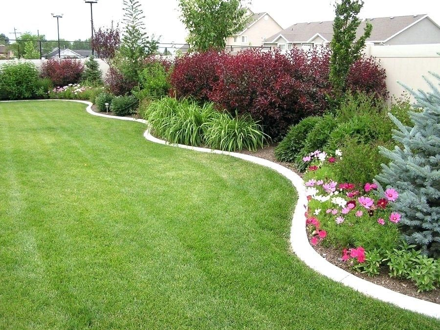 Landscaping Around Fence Best Landscaping Along Fence Ideas On