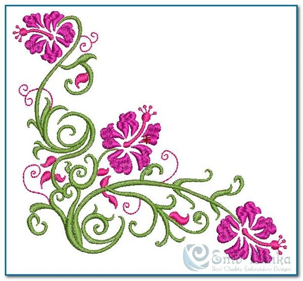 35 Free Hand Embroidery Flower Designs Embroidery Pinterest