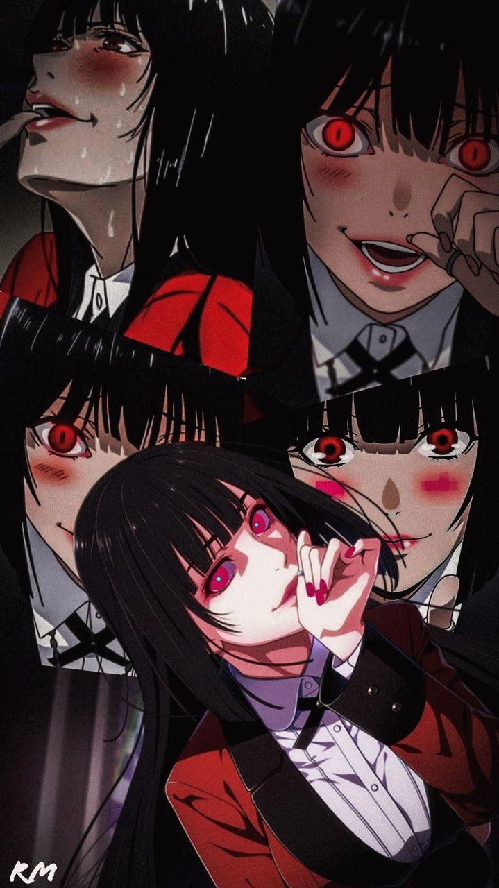 Image about anime in ‧₊˚ ♱ kakegurui +★ 。・ by ★ reive! 🌈