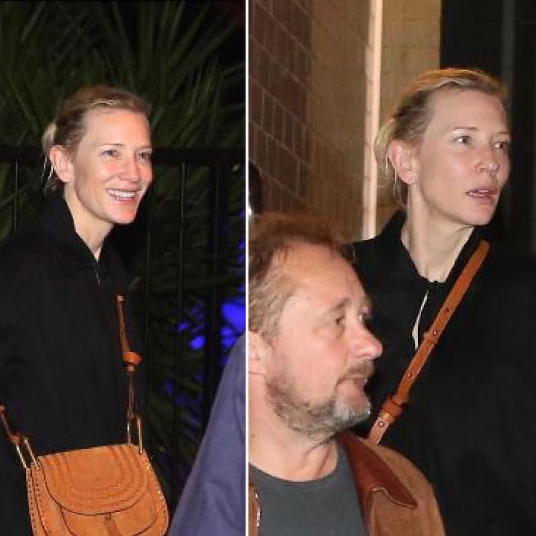 #cateblanchett and #andrewupton spotted at The Fish House