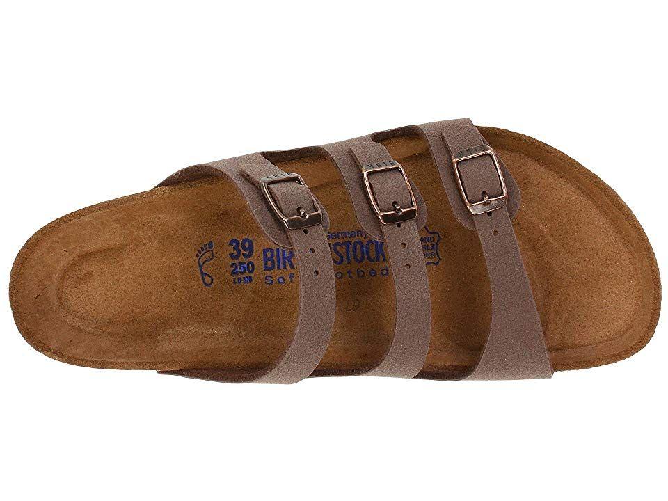 f3c8bef43 Birkenstock Florida Soft Footbed - Birkibuc Women's Sandals Mocha Birkibuc