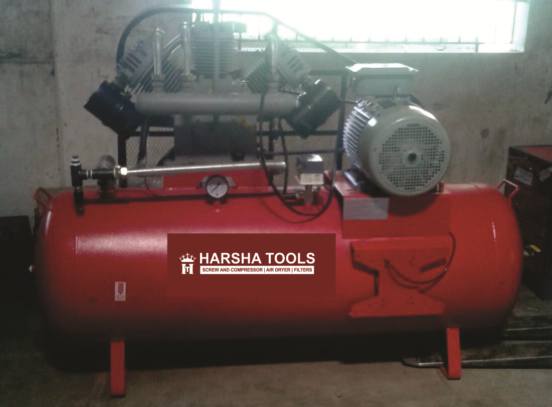 Harsha Tools Single Stage & Double Cylinder Air