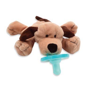 Wubbanub Brown Puppy Infant Pacifier Brown Puppies Wubbanub