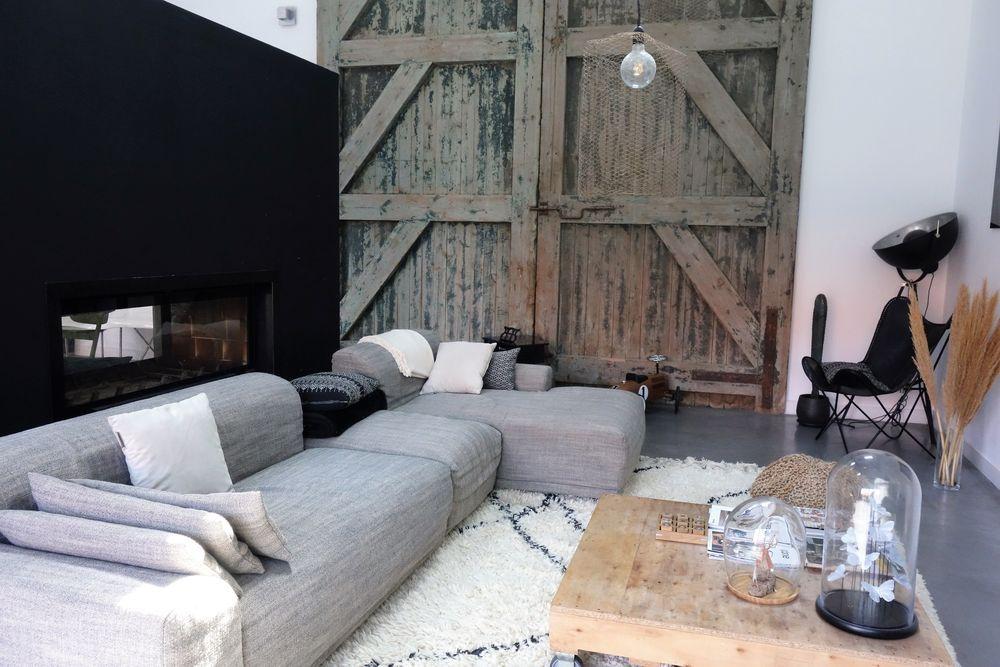 Une Maison Loft Au Design Contemporain Dans Une Ancienne Grange Design Contemporain Loft Maison