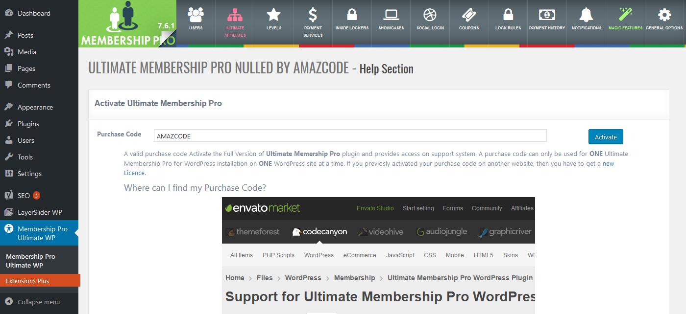 Ultimate Membership Pro V7 6 1 Nulled Wordpress Membership Plugin Social Marketing Tools Plugins Social Media Automation