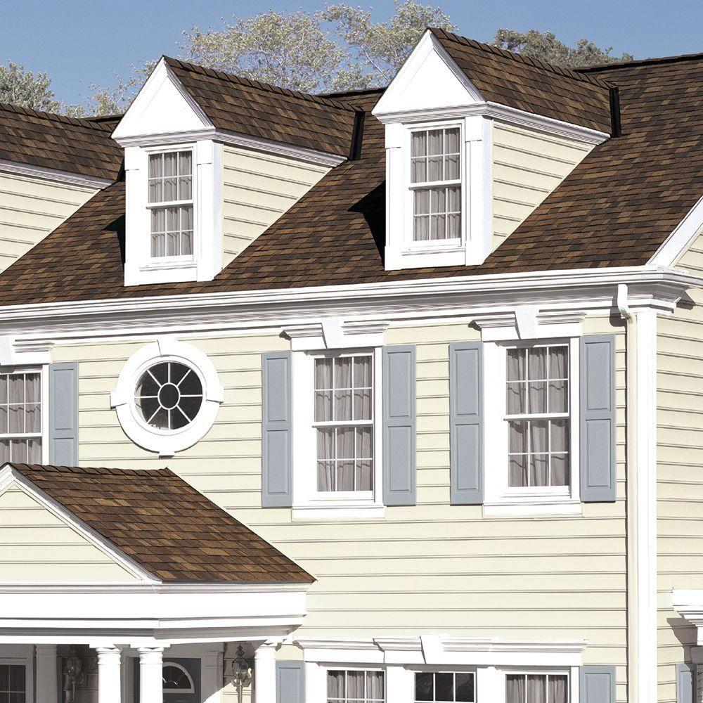 Best Owens Corning Oakridge Brownwood Laminate Architectural Shingles 32 8 Sq Ft Per Bundle 400 x 300
