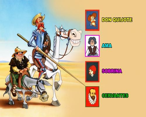 Don Quijote En Las Promociones De Gran Consumo Y Las Licencias Don Quijote Dibujo Don Quijote Proyectos Educacion Infantil