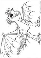 How To Train Your Dragon Coloring Pages On Coloring Book Info Dragon Coloring Page How Train Your Dragon How To Train Your Dragon