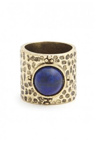 Natural Stone Band with Lapis Lazuli