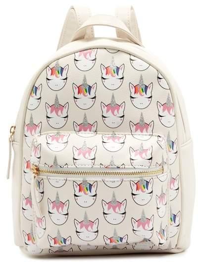 141fcdc250 OMG! Accessories Whimsical Unicorn Mini Backpack (Little Girls   Big Girls)