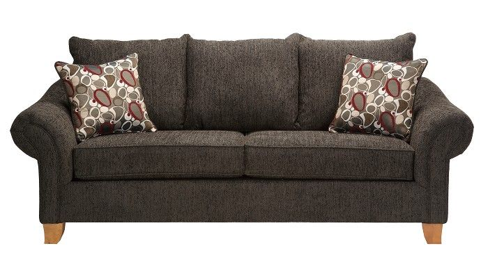 Slumberland Furniture Amherst Collection Smoke Sofa
