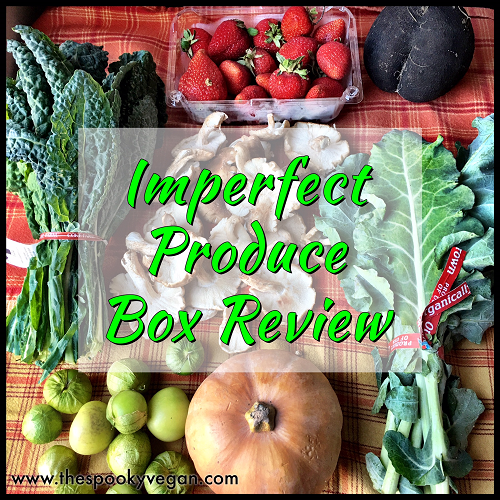 Imperfect Produce Box Review Vegan Inspiration