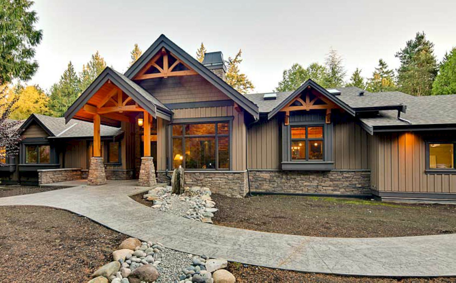 Exterior House Colors Or Ranch Style Homes 01