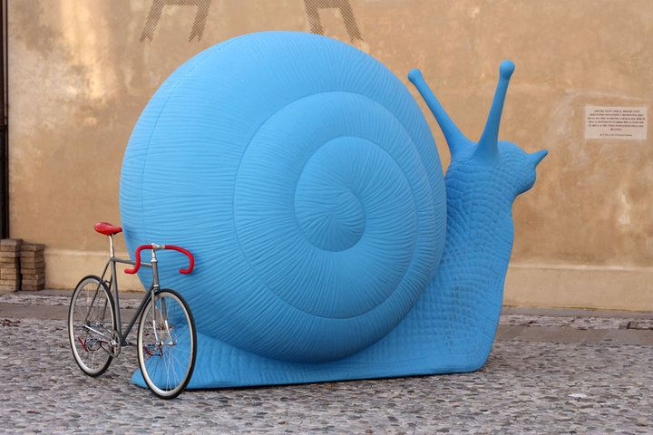Large Blue Snail.  Available from Galleria Ca' d'Oro (ny@ca-doro.com)