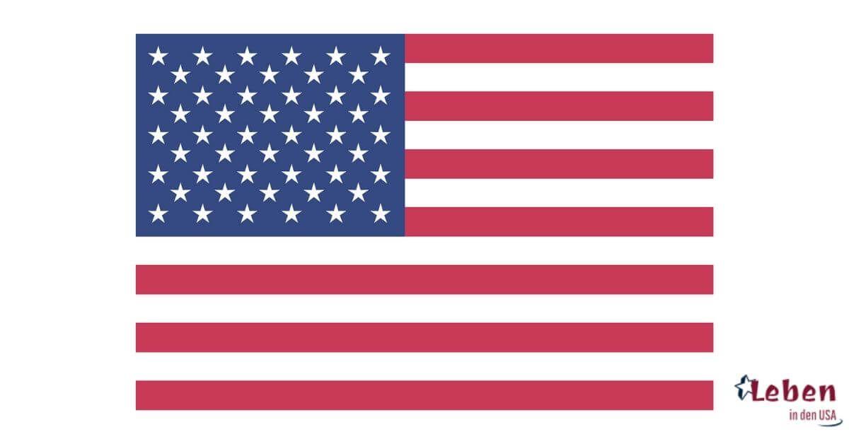 Die Amerikanische Flagge Die Fahne Der Usa Usa Flagge Amerikanische Flagge Usa Fahne