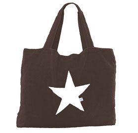 Frottee-Strandtasche mit Stern - BYRH Beach Bags