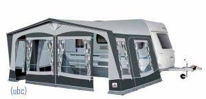 Dorema Exclusive Xl300 Alu Lightweight Frame Caravan Awnings