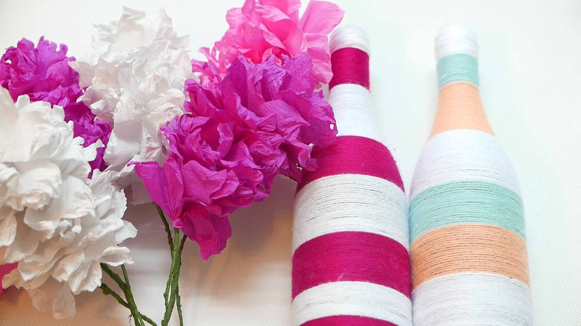 Recycle Beer Bottle To Make This Stunning Flower Pot   Diy flower ...