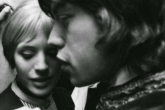 Marianne Faithfull and Mick Jagger c.1967.