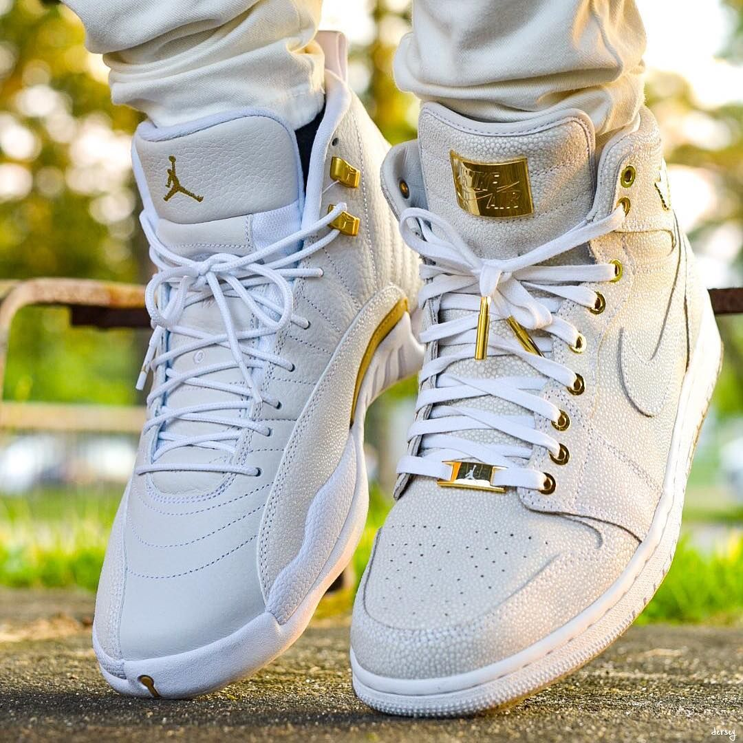best authentic 4cb15 92f0e sweden nike air jordan 12 ovo vs 1 pinnacle str8outtajersey3 90586 c98a7