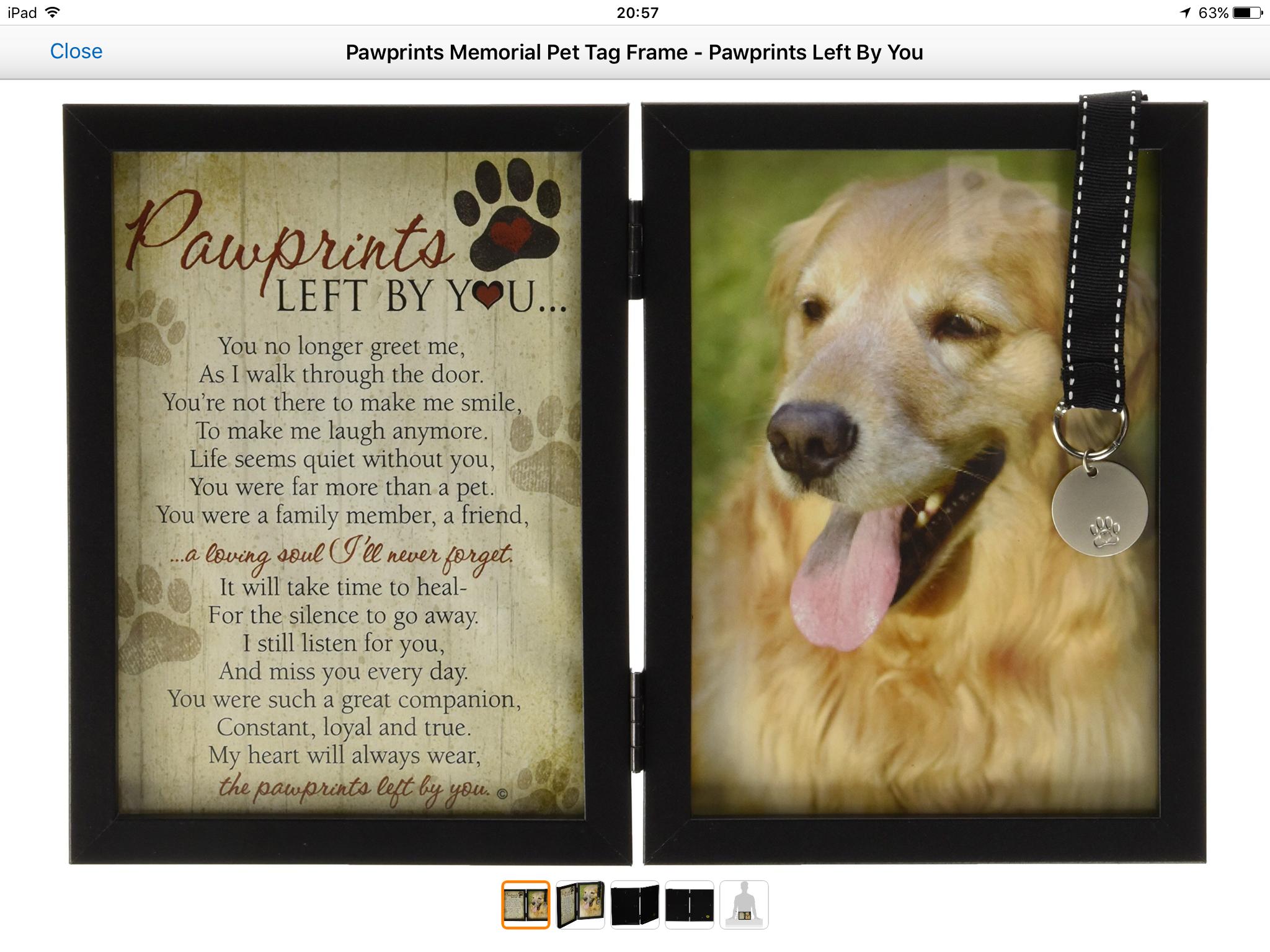 Pin by Judy Wight on My DIY Spa Pet memorial frames, Pet