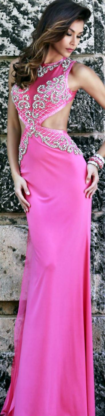 Pin by ❤ Karen M ❤ on Pink....❤   Pinterest   Gowns, Pink ...